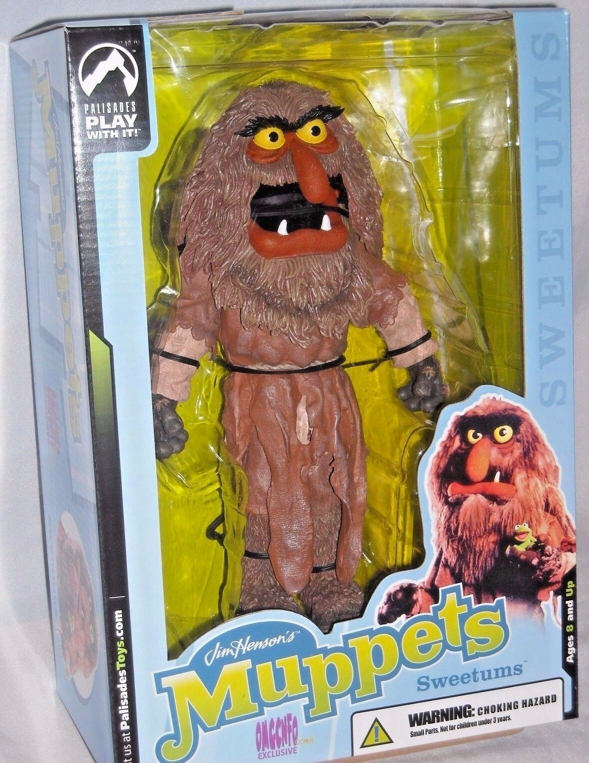 Muppets show palisades exklusive unser deluxe - 10  action - figur mib - film