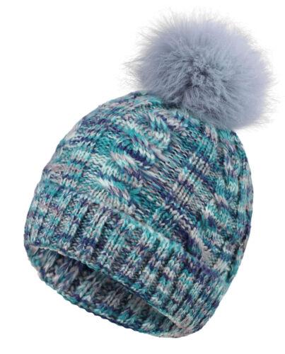 Women Lady Girls Pom Beanie Knit Hat Crochet Ski Hat Winter Warm