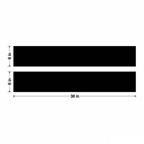"""6/"""" Solid 3M Vinyl Racing Stripes Decal 36/"""" Trunk Tailgate Car Truck 6in 6 inch"""