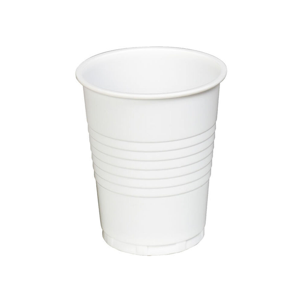 9oz Plastic Vending Disposable Weiß Cups 100 - 2000 - From  Per 100 Ex Vat