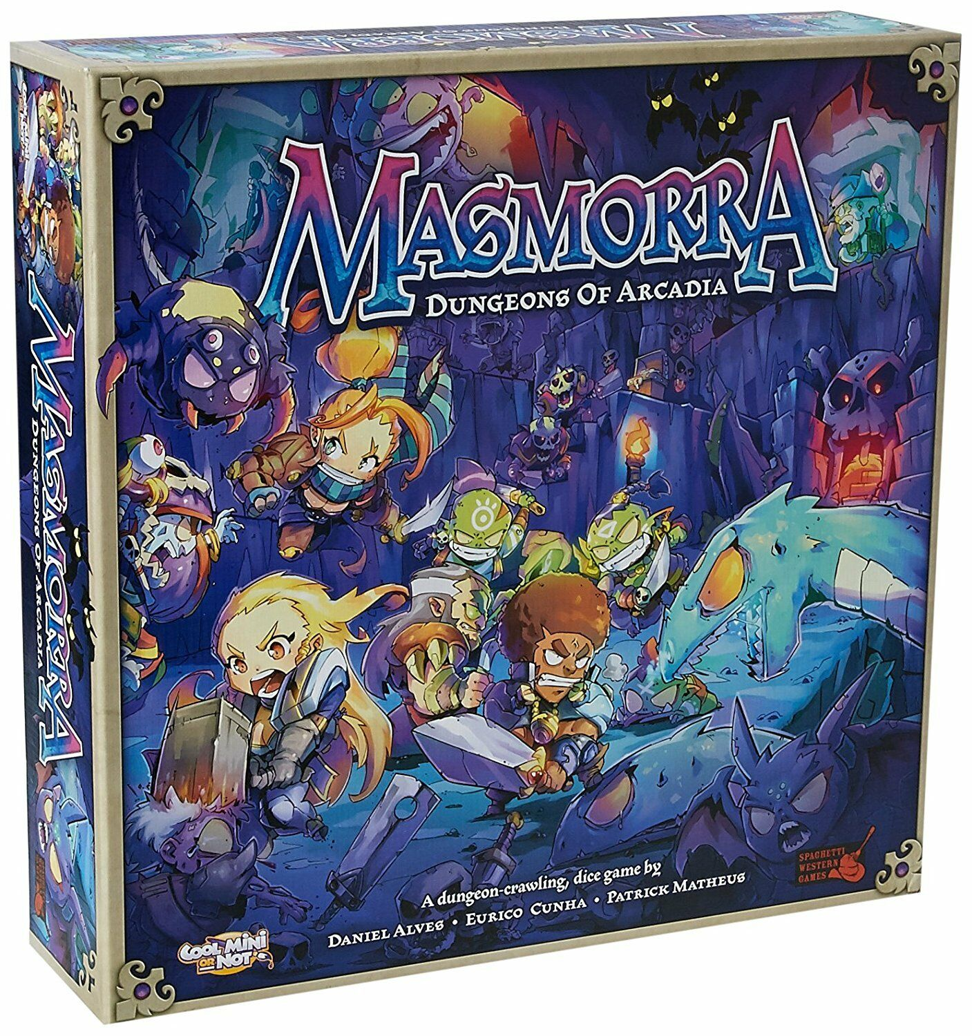 vendita outlet Masmorra Dungeons Of Arcadia tavola gioco Cool Mini Or Not Not Not CMON giocos COL MMR001  molte concessioni