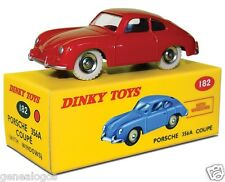disponible DINKY TOYS ATLAS PORSCHE 356 A ROUGE VIF 1/43 REF 182 IN BOX