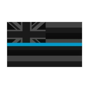Hawaii-HI-State-Flag-Thin-Blue-Line-Police-Sticker-Decal-249-Made-in-U-S-A