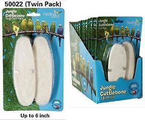 Caitec Jungle Cuttlebone 2X Large Twin Pack 6 inch 4pcs FreeShipping