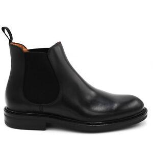 Caricamento dell immagine in corso FRAU-73M3-scarpe-uomo-stivaletti -pelle-nero-n- 2f71e6afe07