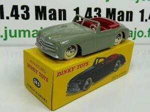 voiture-1-43-reedition-DINKY-TOYS-DeAgostini-SIMCA-8-sport