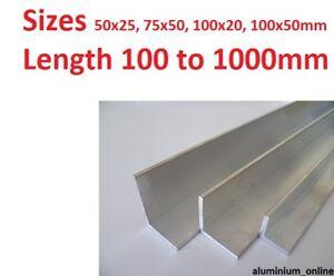 "Aluminium Angle /"" Anodized /"" Alloy Profile L Section"