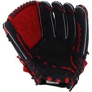 """Mizuno GMVP1200PSE4 RHT Navy/Red 12"""" MVP Prime Special Ed Baseball Glove"""