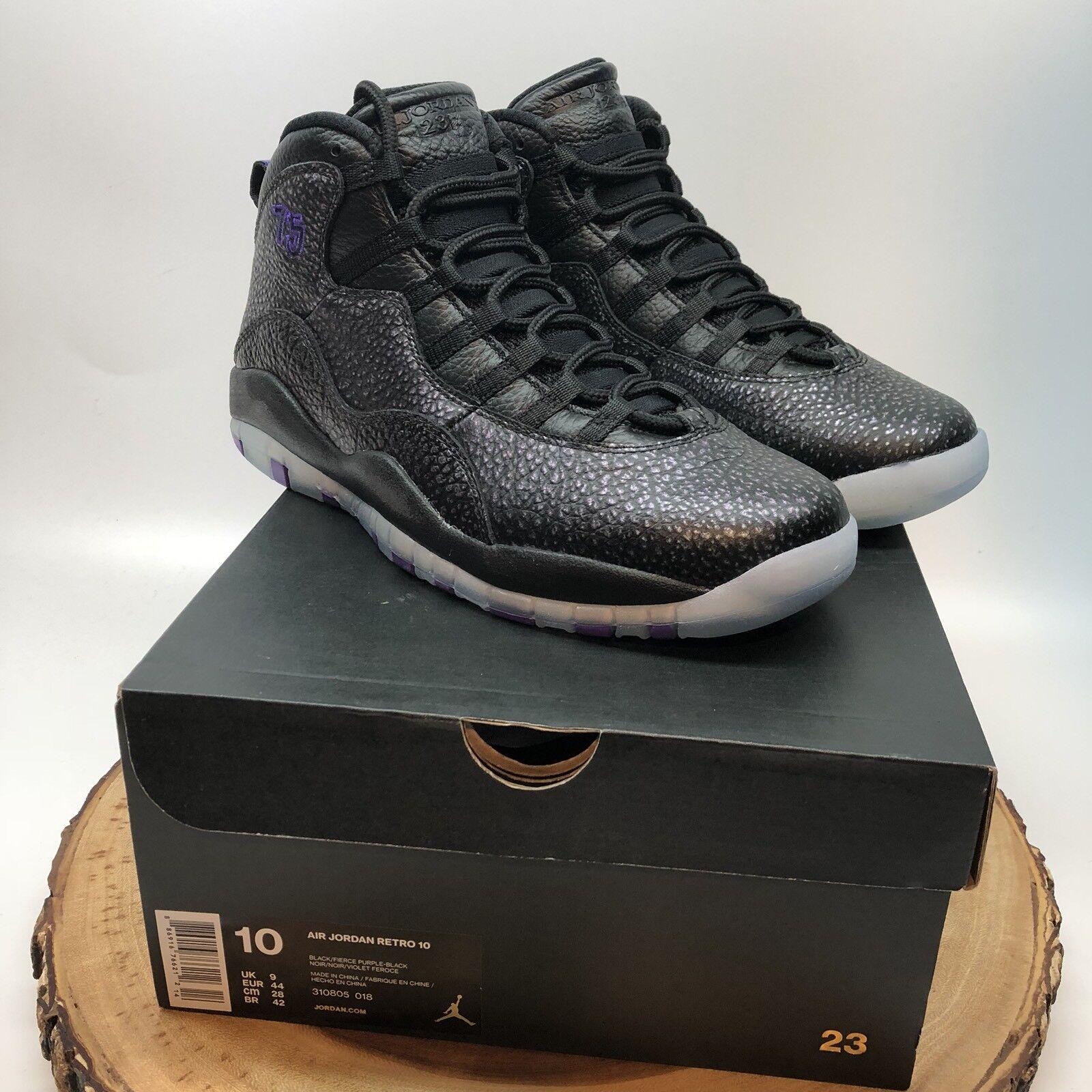 Nike Nike Nike air jordan retro - x stadt paris pack euro exklusive 310805 018 größe 10 xi - xii 1946f0