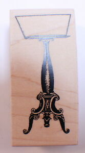 Stampington And Co Wooden Rubber Stamp Antique Music