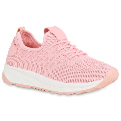 Damen Sportschuhe Laufschuhe Schnürer Fitness Sneaker Strick 896625 Hot
