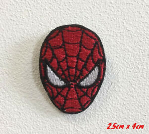 Spiderman Web Jumping Iron-or Sew-on Patch Embroidered Marvel Badge