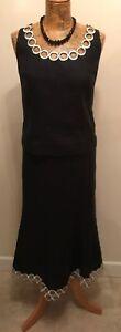 Skirt Top pezzi 16 Set Minuet Black Decor Lino Size New White 2 100 With 14 qHfFx6