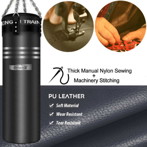 Casual Training Fitness Sand Bag Empty MMA Boxing Heavy Punching Training Bag