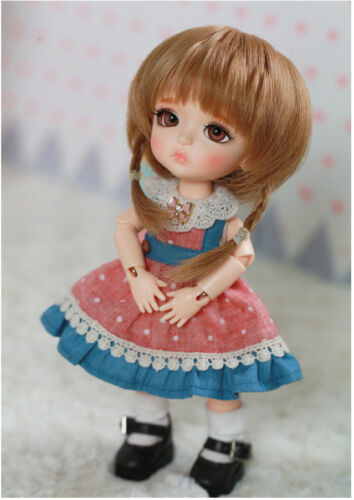 free eyes BJD Doll 1//8 Lea face make up 2 additional hand parts
