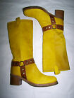 "STIVALI ""LEFT AND RIGHT "" LEATHER PONY SKIN BOOTS N°36"