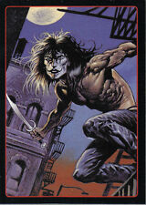 THE CROW CITY OF ANGELS EMBOSSED LEGENDS OF THE CROW CARD 4 OF 10
