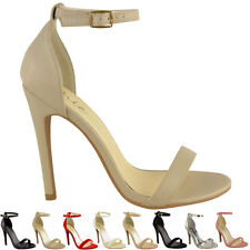 0b961a839bc2 item 1 WOMENS LADIES HIGH HEELS STILETTOS ANKLE STRAPPY CUFF OPEN TOE  SANDALS SHOE SIZE -WOMENS LADIES HIGH HEELS STILETTOS ANKLE STRAPPY CUFF  OPEN TOE ...