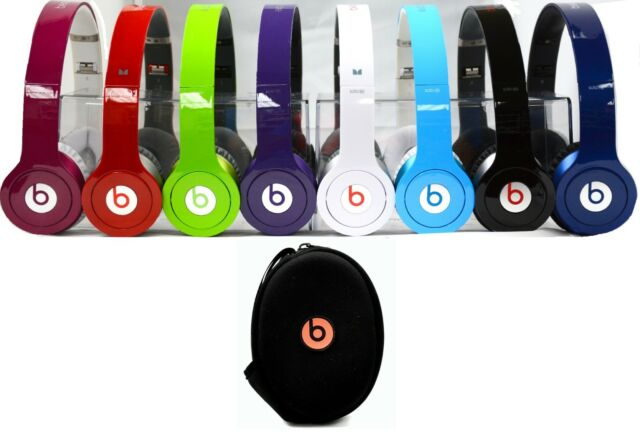 Beats Solo HD By Dr. Dre Beats Solo HD On-Ear Genuine Headphones with Case