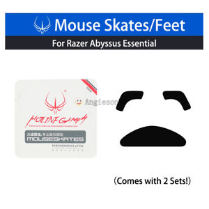 New-Hotline-Games-Razer-Abyssus-2010-Mirror-Mouse-Feet-Skates-Teflon-2-Sets