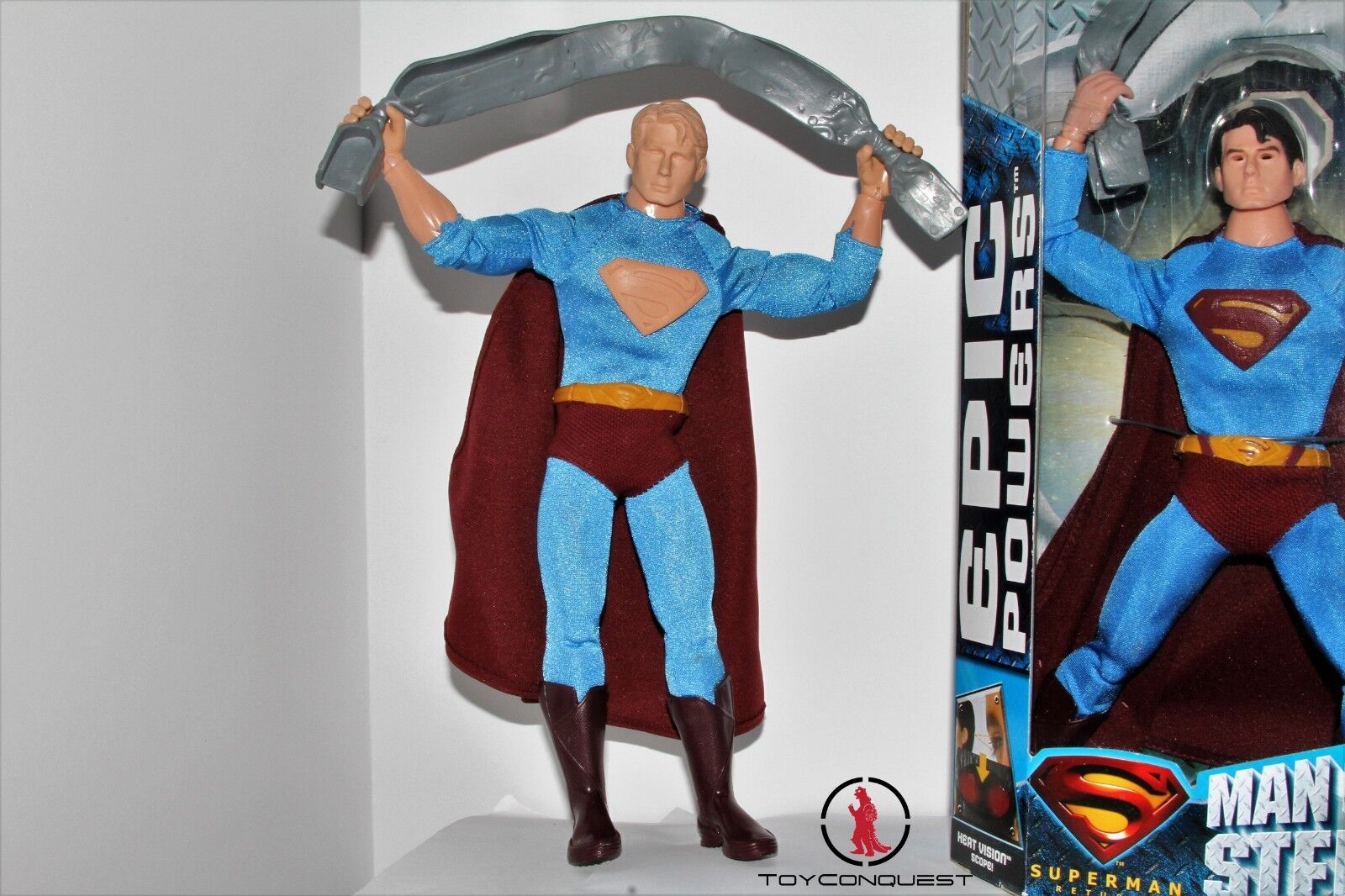 Predotype Test Shot Superman Epic Epic Epic Powers Before and After Set 3a6