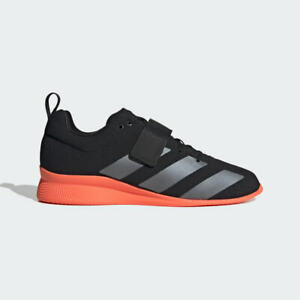 Details about New Adidas Adipower 2 Weightlifting Squat Shoes Mens Size 9.5 Black Red EG1214