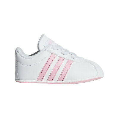 New Born Crib Soft Leather Laces Shoes
