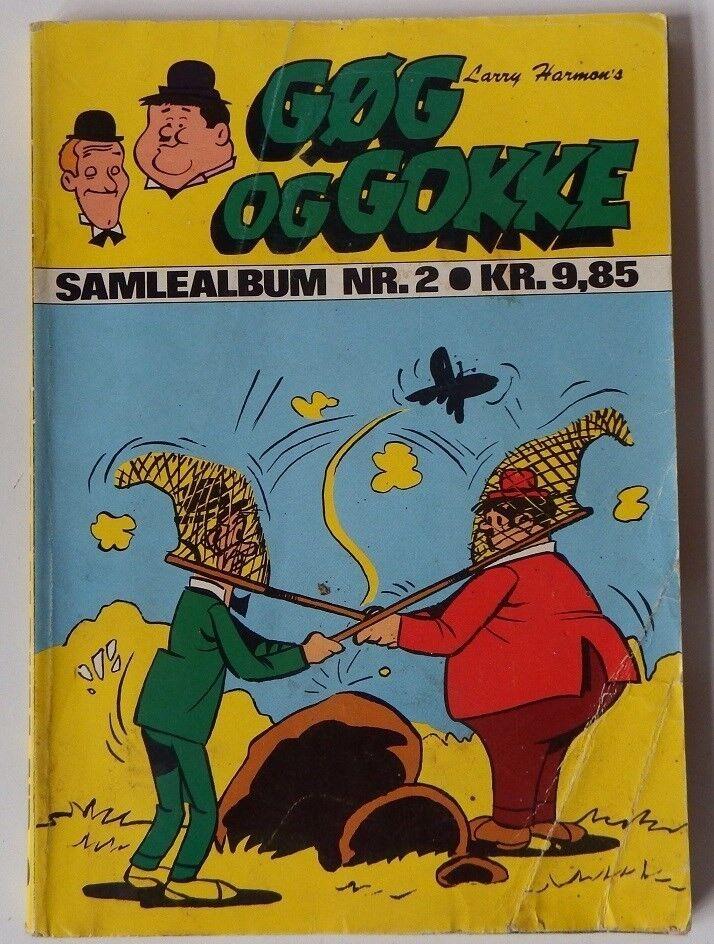 Gøg og Gokke samlealbum nr. 2, Larry Harmon, Tegneserie