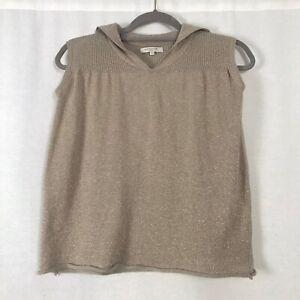 Caramel-Baby-amp-Child-oro-oversize-abito-senza-maniche-Taglia-4-5-Cashmere
