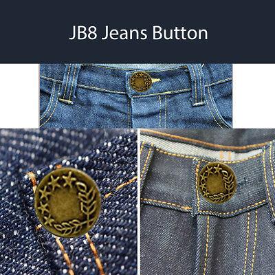 17 mm bronze Jeans Boutons Avec Pins Marteau sur À faire soi-même Veste en Jean Pantalon Shirts