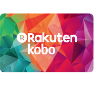 Kobo eGift Card $25, $50, or $100 - Email delivery