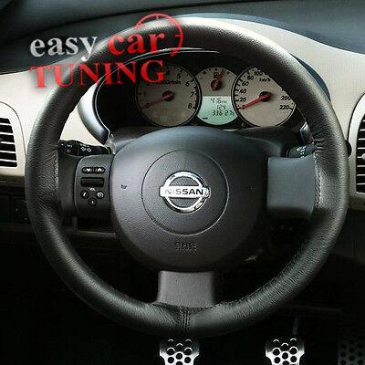 Italian Leather Steering Wheel Cover fit NISSAN II