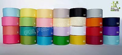 "16mm(5/8"") mixed colors grosgrain ribbon lot bow craft 5 Yards 27 colors U pick"