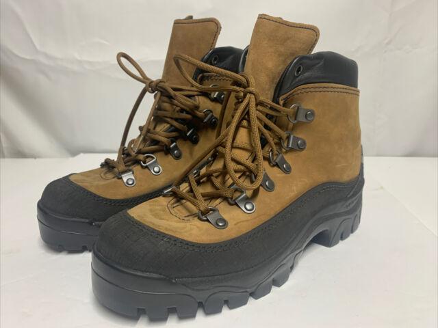 Bates Mens Mountain Combat Hiking Boots Beige Lace Up Gore Tex E03400 Size 6 R