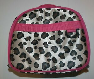 New Girls Hanna Andersson Lunch Box Cheetah Leopard Print