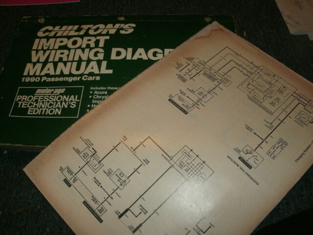1990 Mazda 626    Mx6 Oversized Wiring Diagrams Schematics Manual Sheets Set