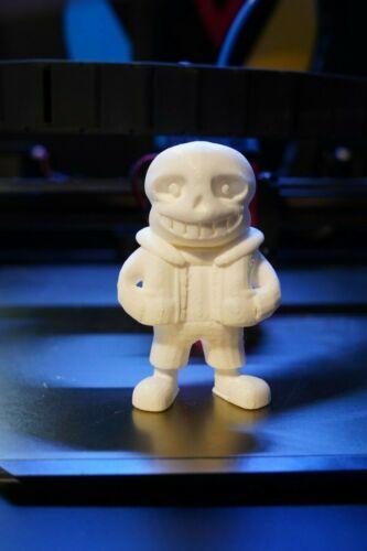 Custom Paintable 3DMelty Undertale Sans Figure Figurine