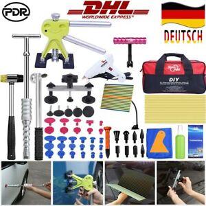 KFZ-Ausbeulwerkzeug-Karosserie-Gleithammer-Ausbeul-Dellen-Reparatur-Werkzeug-Set