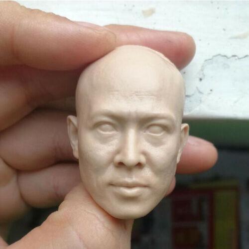 Blank Hot 1//6 Scale The Grandmaster Huang Feihong  Jet Li Head Sculpt Unpainted