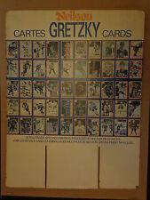 Wayne Gretzky Hockey Card Retail Cardboard Display 1982-83 Neilson 99 Candy Bar