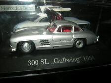 1:43 Ixo Mercedes-Benz 300 SL Gullwing 1954 silber/silver VP