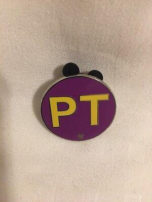 Disney Official Pin Trading 2008 Hidden Mickey 4 Of 5 Pt
