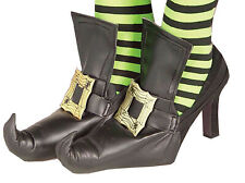 Gothic Witches Gaiters Sorceress Buckleups Shoe Covers Witch For Adult
