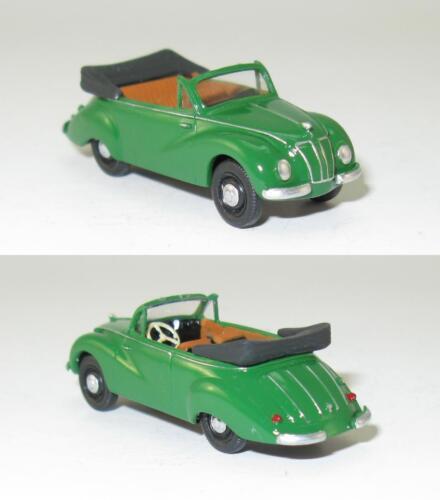 IFA F9 Cabrio-Limousine 1955 DDR PKW 1:87 HO
