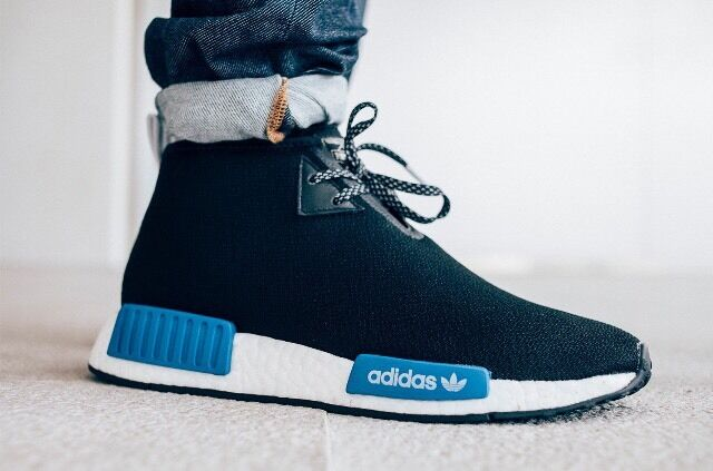 Adidas X Porter Japan NMD C1 Chukka Boost Pk Black Blue w/Receipt Comfortable