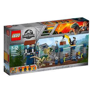 Inquiet Lego Jurassic World 75931 - Attacco All'avamposto Del Dilofosauro Nuovo