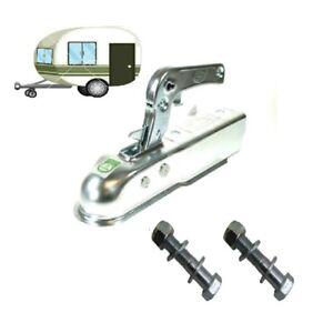 MAYPOLE-CARAVAN-PRESSED-STEEL-HITCH-FOR-50mm-DRAWBARS-MP80-with-x2-BOLTS