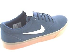 Nike-SB-charge-en-daim-Homme-Chaussures-Baskets-Taille-UK-9-5-CT3463-400