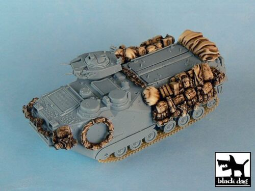 Black Dog 1//72 AAV-P7A1 RAM//RS Accessories Set Iraq War for Dragon 7237 T72004