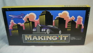 MAKING IT BOARD GAME - FROM THE BOARD ROOM FINANCIAL POWER & WEALTH 1997 - NEW